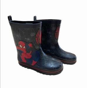 Boys Size 12 Spiderman Rubber Boots